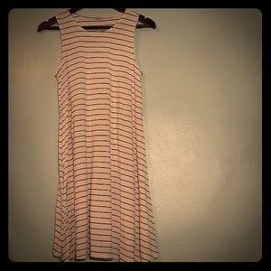 Black&white basic dress